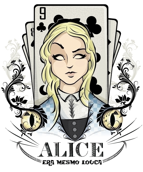 Alice - illustration, characterdesign - marciobatista | ello