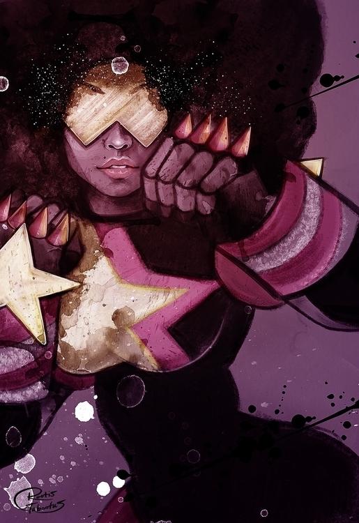 Digital Painting Garnet Steven  - rootistabootus | ello