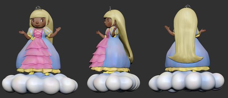 Princess Andie Model. Zbrush - characterdesign - artisteko | ello