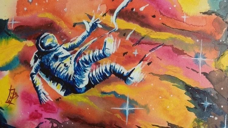Acrylic Paint 30x40 cm - painting - hawr | ello