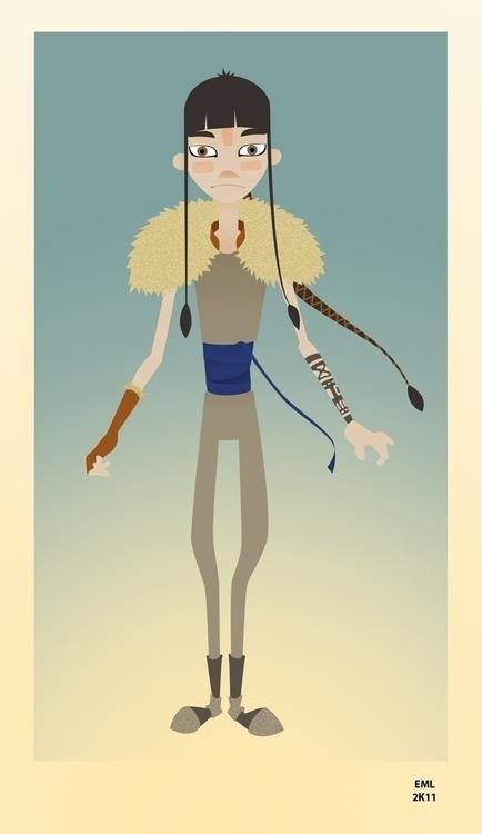 Aram - illustration, characterdesign - emarchena | ello