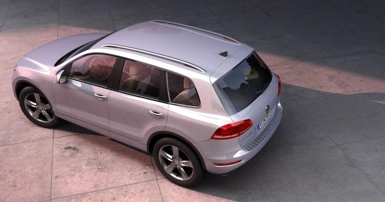Volkswagen Touran - 3d, cgi, cr - curro-1143 | ello
