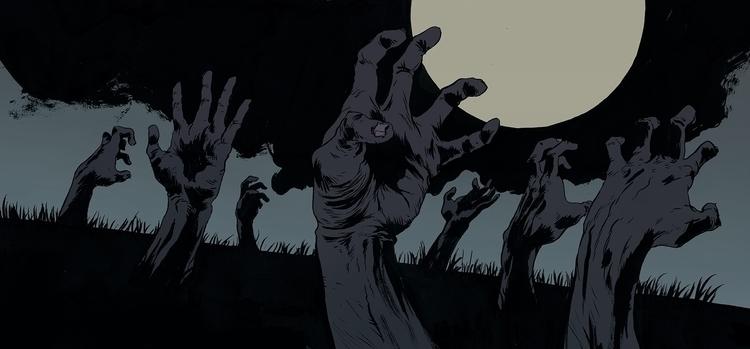 Zombies | Ink Photoshop - robertsammelin - robertsammelin-9753 | ello