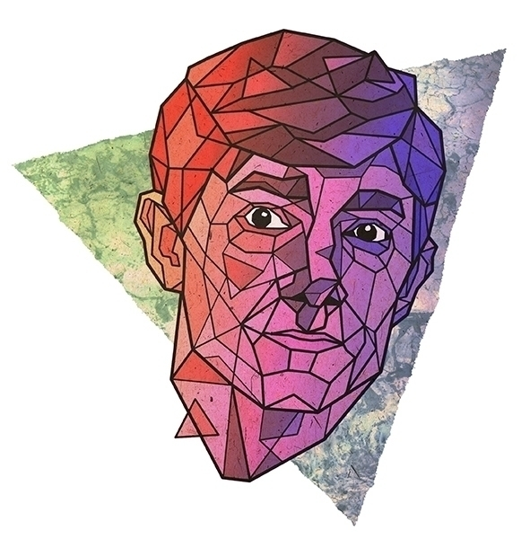 Martin Freeman - geometric, portrait - alexanderwalker-5442 | ello