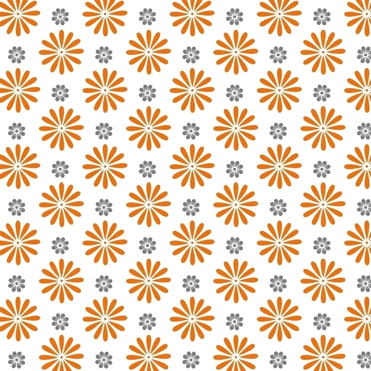 Pop flowers pattern - patterndesign - cibelle-7505 | ello
