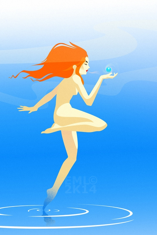 illustration, characterdesign - emarchena | ello