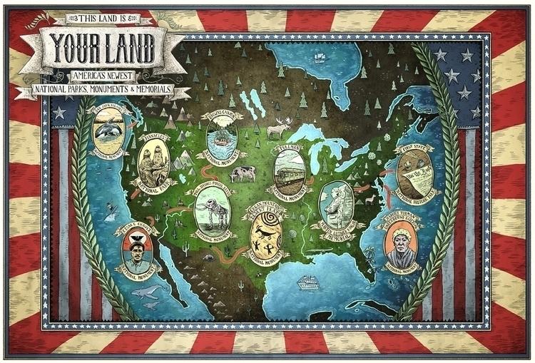 Hemispheres Magazine - map, maps - barrybruner | ello