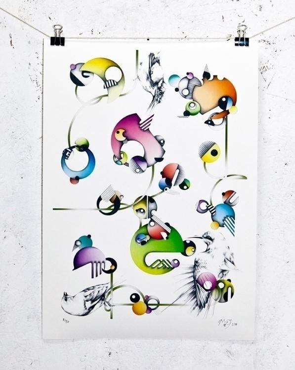 Birds - melissagoddard | ello