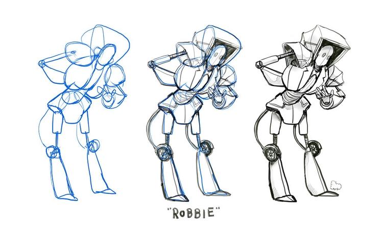 character buildup. design based - sheeprilyn | ello