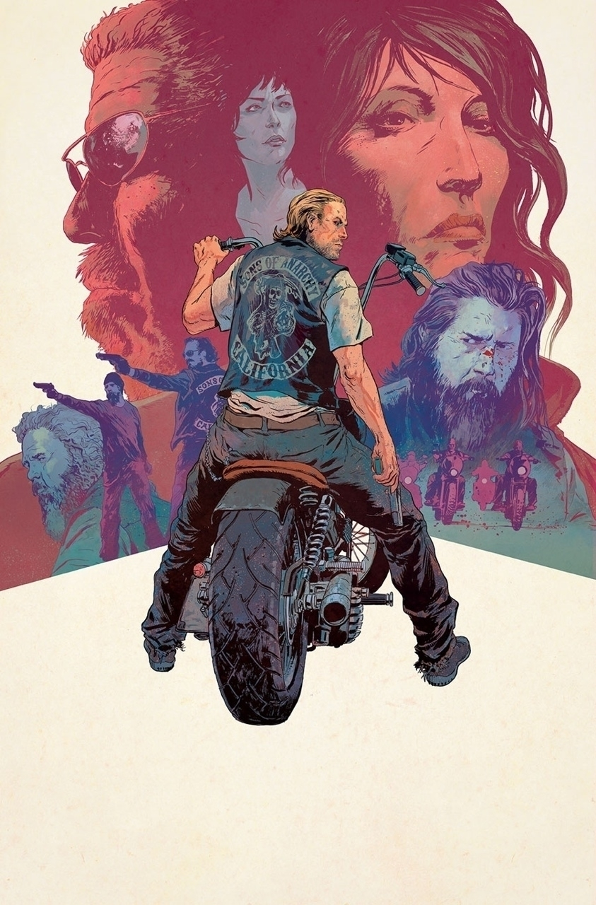 Sons Anarchy Final Issue Varian - robertsammelin-9753 | ello