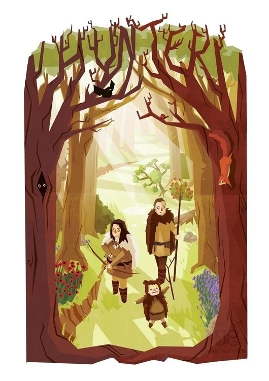 Family portrait commission - illustration - gemmagould | ello