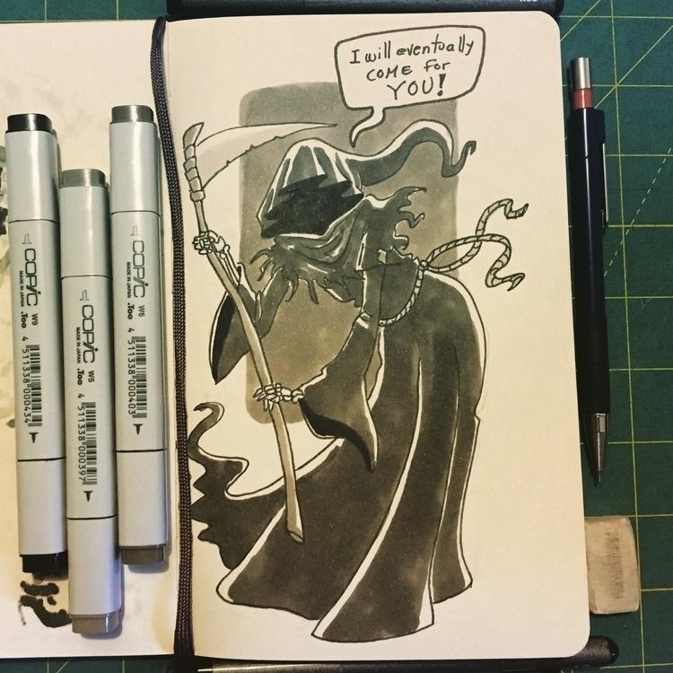 Day 31 - characterdesign, inktober2015 - pingolito | ello