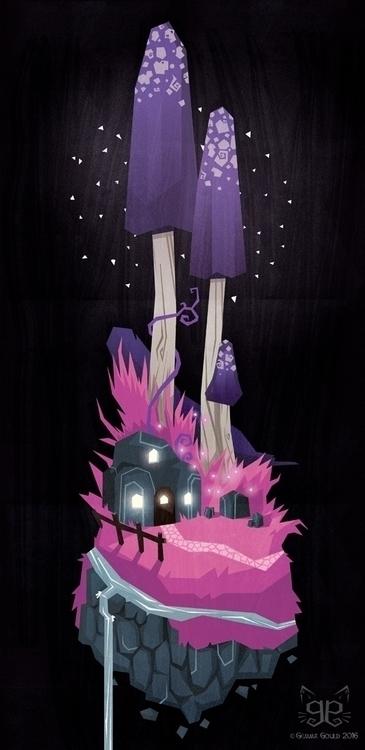 Deep Lilac - illustration, colourcollective - gemmagould | ello
