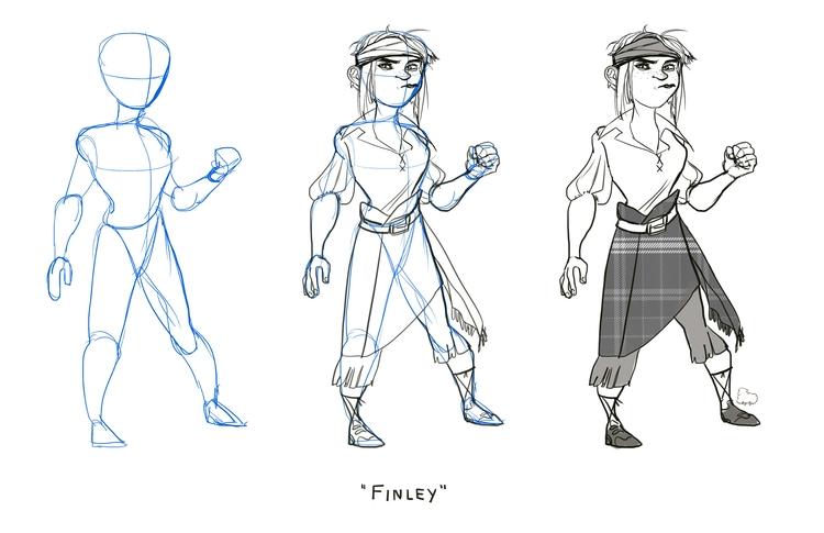 character buildup - characterdesign - sheeprilyn | ello