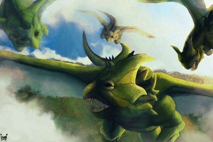 Moloc Dracos, Draconarium proje - viktorleon | ello