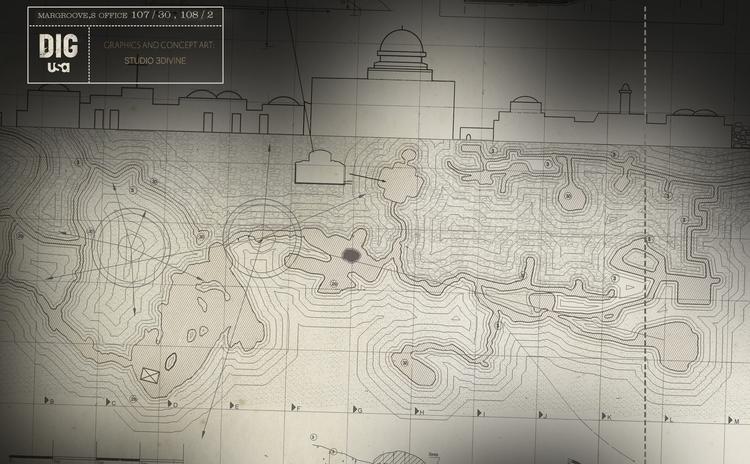 Map Jerusalem / STUDIO 3DIVINE  - studio-1100 | ello