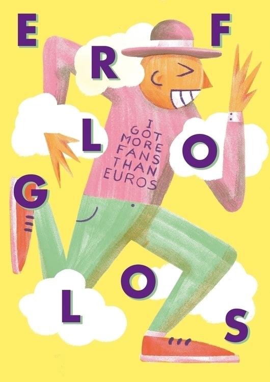 illustration, erfolglos, morefansthaneuros - konndeplus | ello