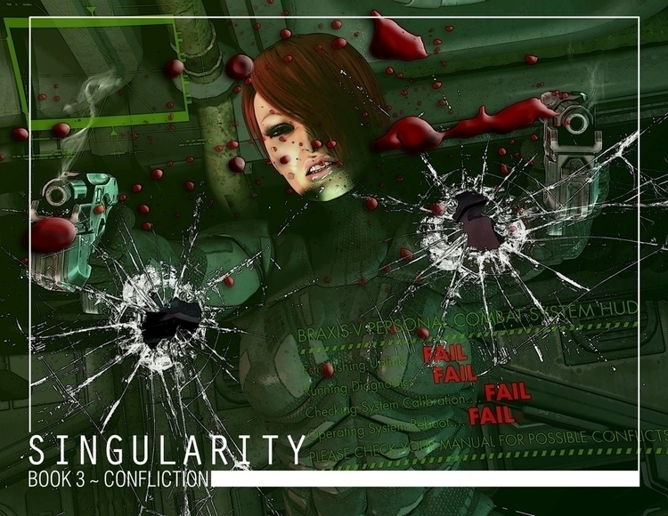 Chapter cover art Singularity w - baddog117 | ello