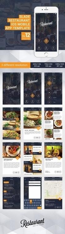 Slade Restaurant iOS Mobile App - kovacsszabi   ello