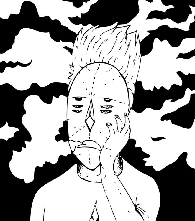 Bored - bored, doodle, drawing, cloud - ghulamrusli   ello