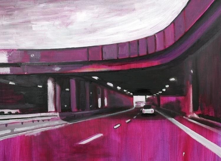 Highway (Dortmund ), 80x100 cm - reconq   ello