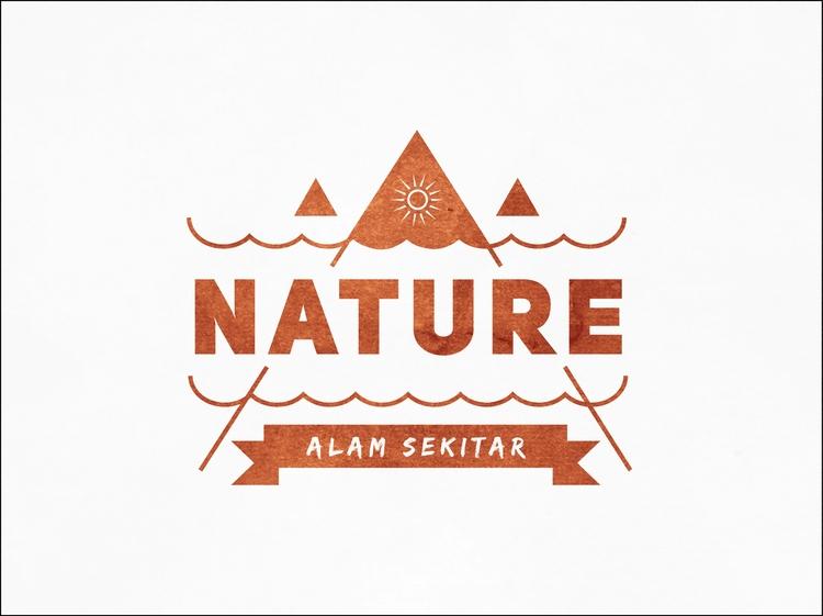Nature - vector, illustration, simple - ghulamrusli | ello