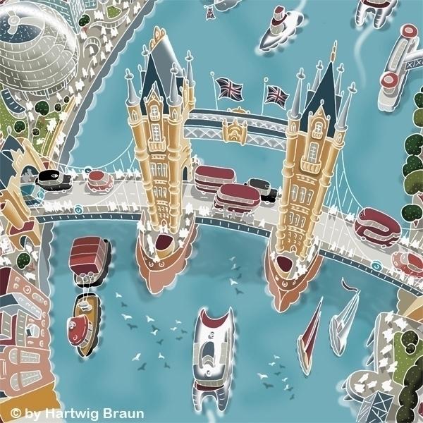 Tower Bridge - hartwigbraun, london - hartwigbraun | ello