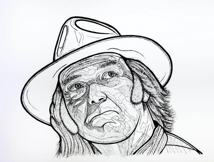 Neil Young 'Monsanto Fears' por - stevenhart | ello