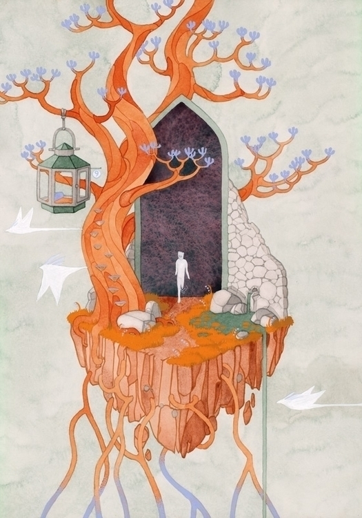 Hermit - Kelly Airo - illustration - kairo-1139 | ello