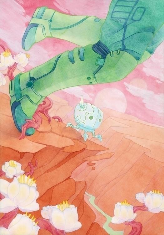 Fool - Kelly Airo - illustration - kairo-1139 | ello