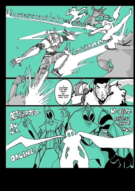 Page long-running comic battle  - tofuplusbeast | ello
