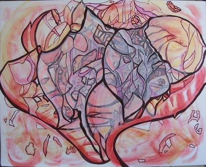 painting, acrylic, acryliconcanvas - annafilimonova | ello