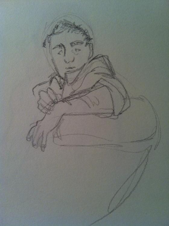 Couch sketch - sketches, sketchbook - clarisse-1174 | ello