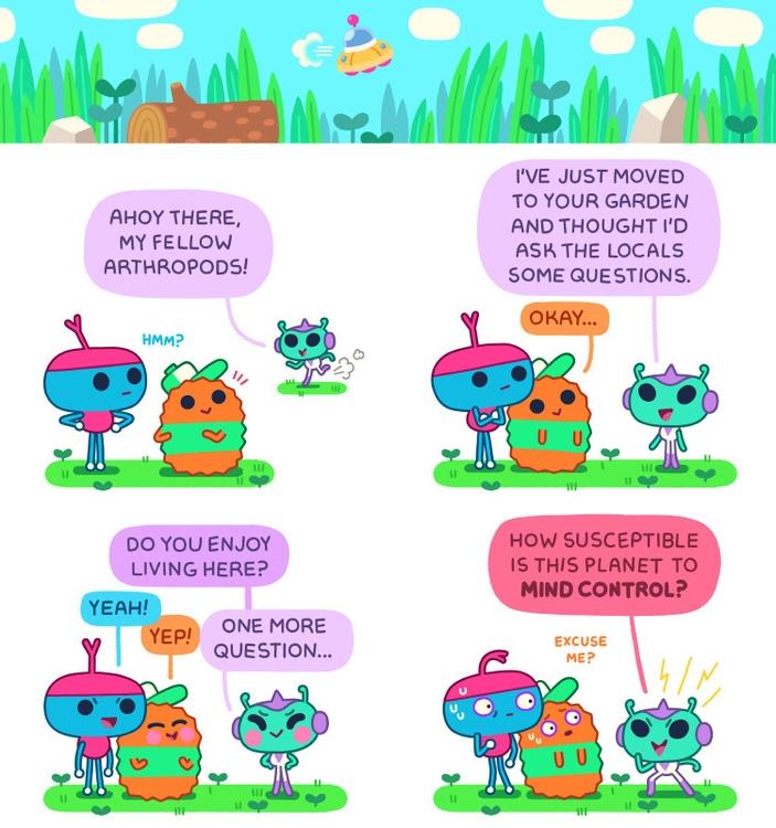 comics - stepsoversnails | ello