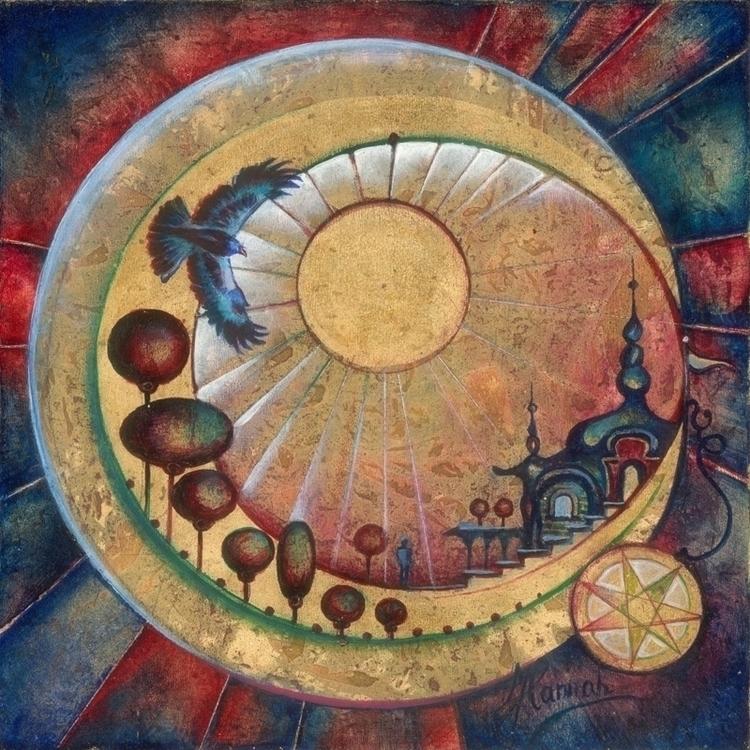 Twardowski Moon - Polish legend - annahannahart   ello