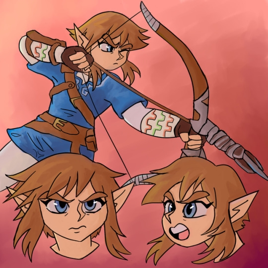 Zelda drawings celebration 31st - rabbott-8438 | ello