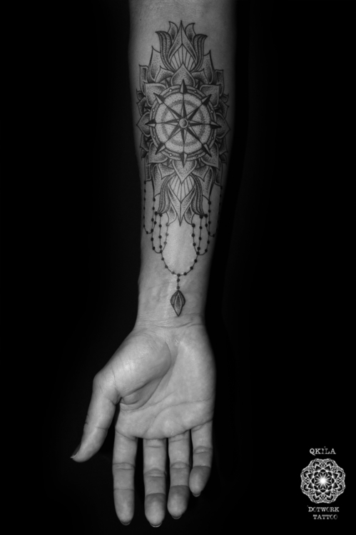 geometric tattoo dotwork - QKil - qkila | ello