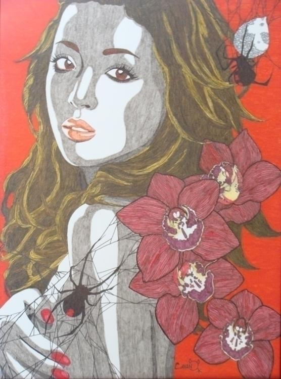 Ayumi - drawing, illustration - cavano | ello