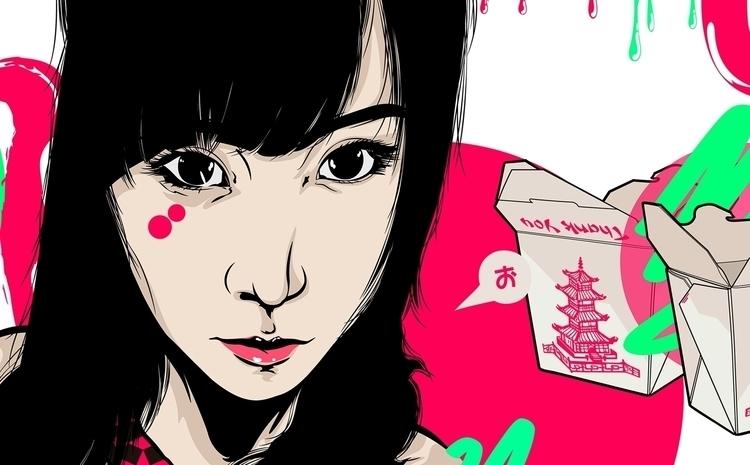 guys - art, illustration, drawing - atsukosan-3588 | ello
