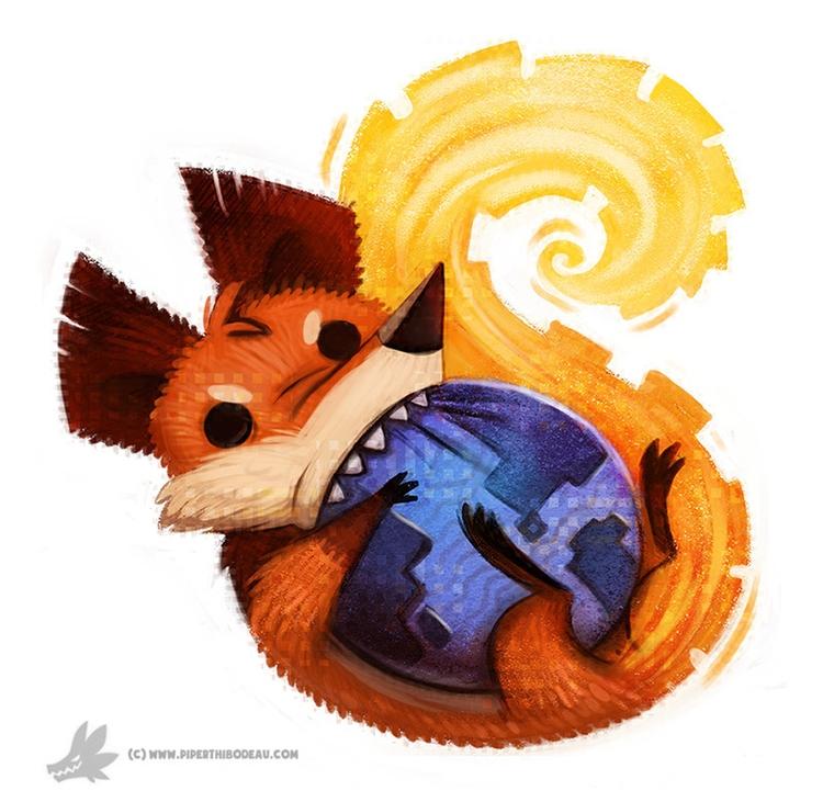 Day 795. Firefox Icon - piperthibodeau | ello