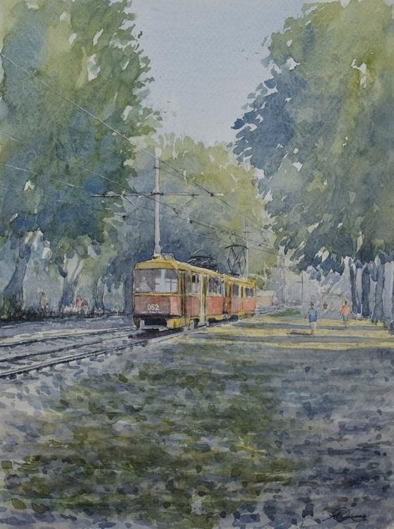 tram home Krasnodar, Russia. pa - andrewlucas | ello