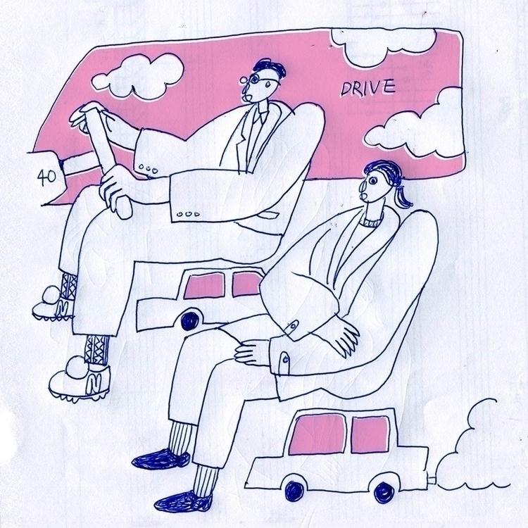 drive - illustration, art, artist - albertkiwi | ello
