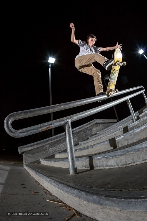 Ronnie Smith - frontside blunt  - toddfuller | ello