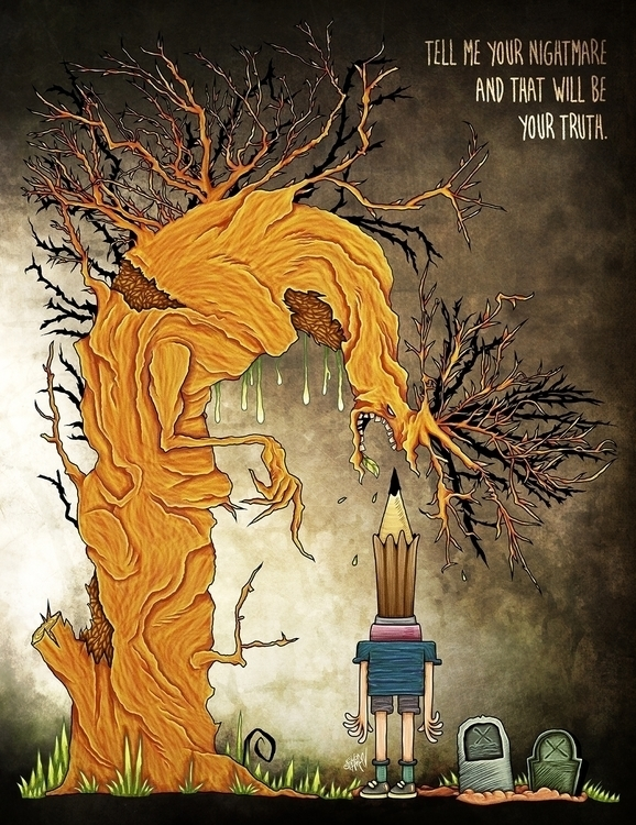tribute Monster Calls movie. wa - eliran_bichman | ello