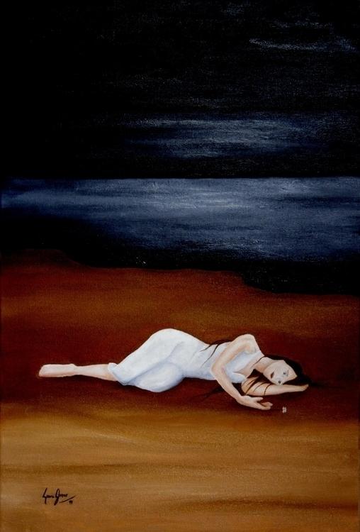 Innocence - Oil canvas 40 60 cm - lauragreco | ello