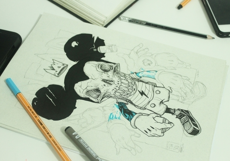 Deadheroes project - mickeymouse - fiasco-4537 | ello