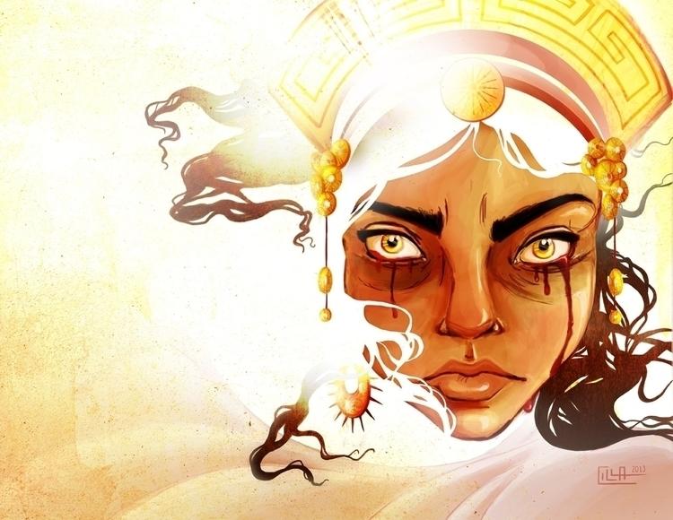Medea - illustration, digitalart - misscilla | ello