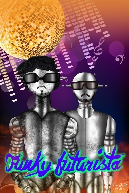 Funky Futurista inpired Illia K - hanjeri | ello