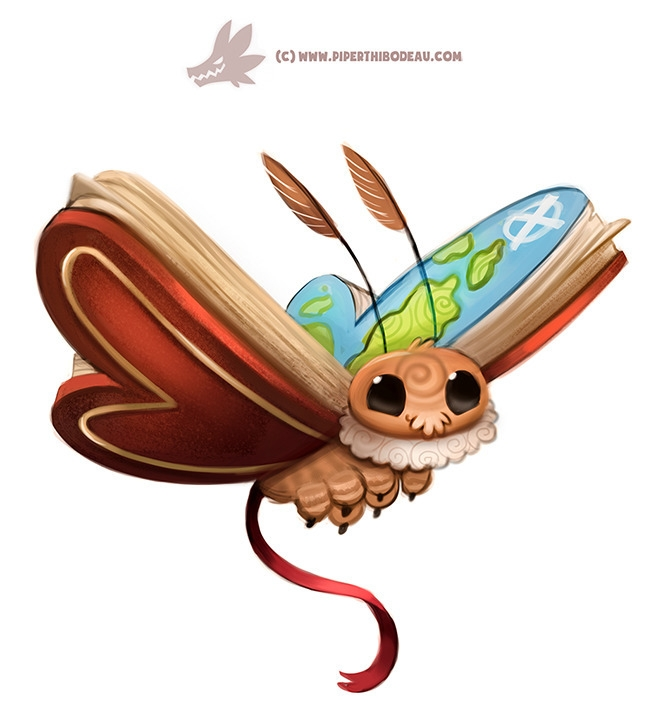 Daily Paint 1302. Atlas Moth - piperthibodeau | ello