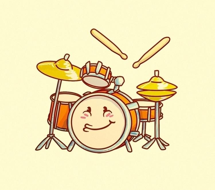 Drums - drums - camotron   ello